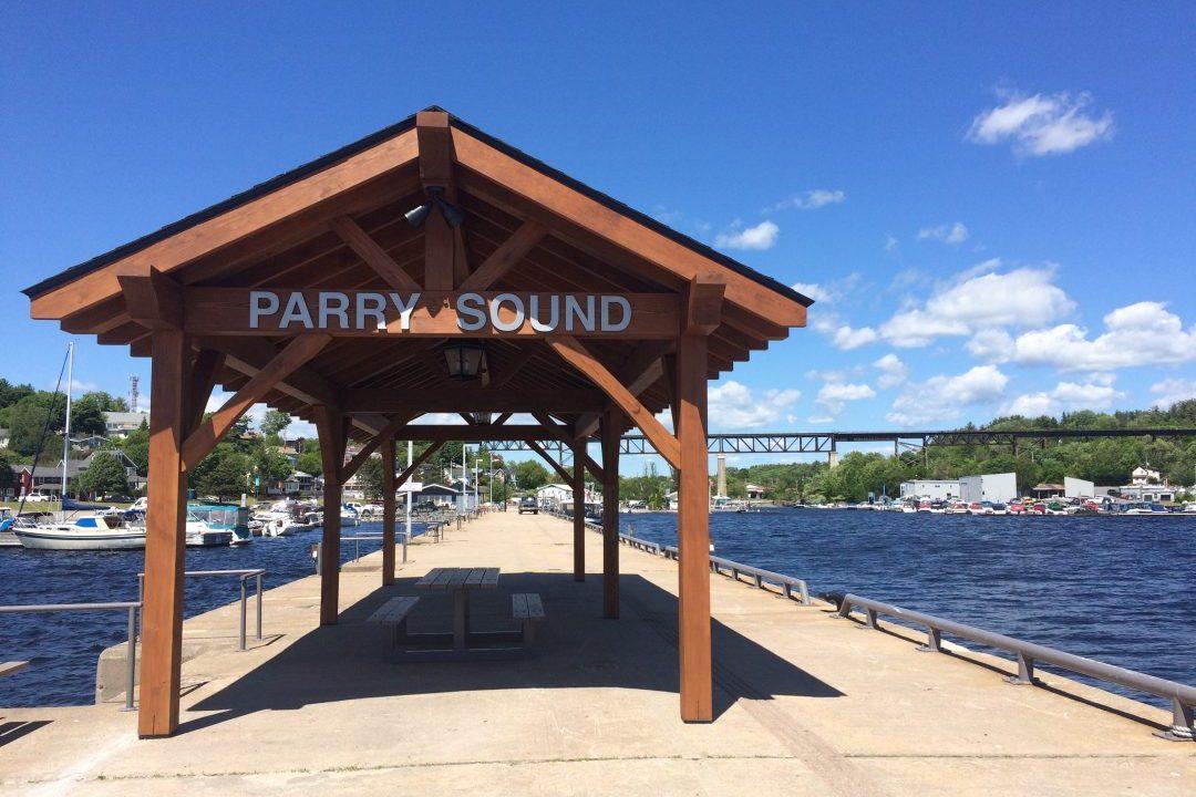 Gazebo Town Dock Parry Sound