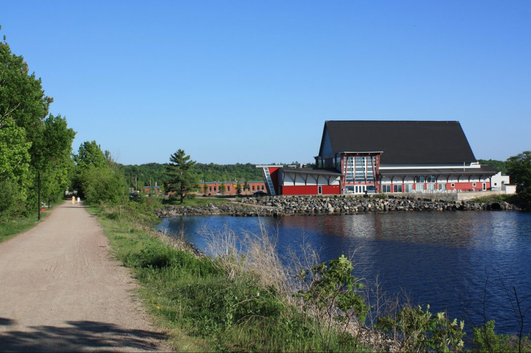Charles W. Stockey Centre and Waterfront Trail