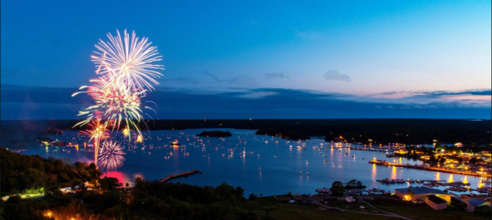 Parry Sound fireworks